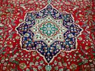 8X10 1940's GORGEOUS AUTHENTIC HAND KNOTTED 70+YRS ANTIQUE TABRIZ PERSIAN RUG
