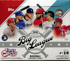 (5) 2018 Topps Big League Baseball Cards Hobby Box - Factory Sealed