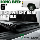 TRI-FOLD HARD TONNEAU COVER LW 2004-2012 COLORADO/CANYON REGULAR/EXTENDED 6' BED