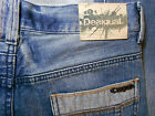NWT DESIGUAL size 28 jeans 28 x 34 button fly regular fit womens womens NEW