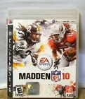 EA SPORTS MADDEN NFL 10 PLAYSTATON GAME 3 GAME NO MANUAL