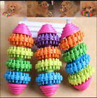 Colorful Rubber Pet Dog Puppy Dental Teething Healthy Teeth Gums Chew Toy Tool