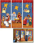 Nativity Pageant X Banner Set Pat Olson 23 x 63 Inch