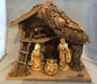 FONTANINI NATIVITY SET MANGER SCENE DEPOSE ITALY HAND PAINTED 1991