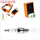 Set Racing Ignition Coil Spark Plug CDI For 4-Stroke Engine Scooter ATV 50-150cc