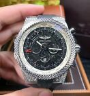 New BREITLING Bentley GMT A47362AL/BC76 Stainless Steel 49mm Men's Watch