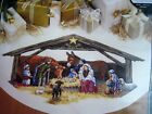 Christmas Dimensions GOLD Counted Cross Tree Skirt KITNATIVITY SCENE458814