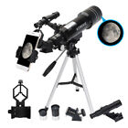 40070 Refractor Astronomical Telescope With Tripod  Phone Adapter Optical Lens