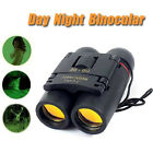 30x60 Folding Binocular Telescope Red Film Coated Light weight Telescope Pretty