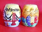 San Francisco Souvenir Salt and Pepper Shakers Hand Painted