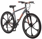 Mongoose 29 Mens Billet Mountain Bike Gray