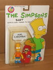 1990 the Simpsons BART Action Figure with 5 Cool Things to Say by Mattel MOC