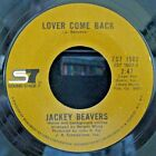 Jackey Beavers-Lover Come Back/Someday We'll Be-Rare Northern Soul 45-HEAR