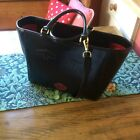 Lulu Guinness Large Leather Tape Face Bag