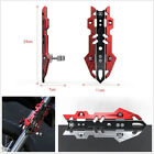 Black+Red Aluminum Alloy Motorcycle ATV Front Shock Proof Cover Personalized Kit