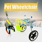 Aluminium Pet Dog Cat Wheelchair Cart Scooter Kit For Handicapped Hind Leg Dog