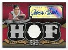 2009 Topps Triple Threads #143 Johnny Bench Triple Jersey Autograph Card #11 18