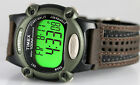 Timex Men's T48042 Expedition Full-Size Digital CAT Brown Material Strap Watch