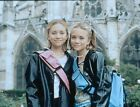 1999 MARY-KATE AND ASHLEY OLSEN In PASSPORT TO PARIS Original 35mm Slide