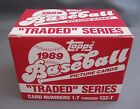1989 TOPPS TRADED 132 CARD SET NEW INCLUDES KEN GRIFFEY JR. ROOKIE CARD