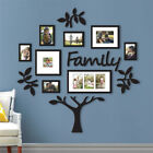 Family Tree Frame Collage Picture Collage Photo Sticker Wall Mount Decor Wedding