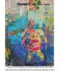 Seawell Sea Turtle Collage Wall Hanging Quilt Pattern by Fiberworks