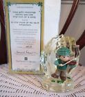 May God Hold You In The Palm Of His Hand Irish Blessing Figurine New In Box COA
