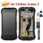 Ulefone Armor 2 LCD Display + Touch Screen Digitizer Assembly Replacement+Tools