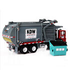 124 Scale Diecast Material Transporter Garbage Truck Vehicle Car Toys Model