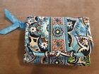 Vara bradley Bali Blue Tri-Fold wallet New without tags RARE Excellent Condition