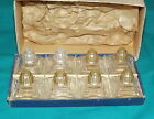Vintage Irice individual salt and pepper shakers lot of 8 with box