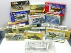 MODEL AIRPLANES SHIPS 17 PIECE LOT AIRFIX FUJIMI HASEGAWA MATCHBOX REVELL