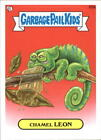 2013 Garbage Pail Kids Series Two #63a Chamel Leon
