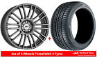 Alloy Wheels  Tyres 90x20 AEZ Strike Grey Matt + 2555520 Economy Tyres