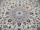 10X13 1940's MAGNIFICENT FINE HAND KNOTTED 70+YRS ANTIQ WOOL KASHANN PERSIAN RUG