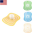 US 2 4 6 Flexible Resin Kitchen Tools Chopping Mat Clear Cutting Board Pad