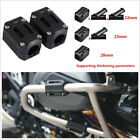 One Pair Black Plastic Motorcycles Engine Protect Guard Bumper Blocks 22/25/28mm