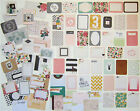 New PROJECT LIFE MAGGIE HOLMES OPEN BOOK Core Kit Cards 75 cards