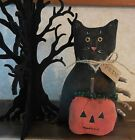 Jack-O-Lantern Folk Art Holiday Decor