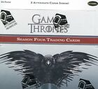 GAME OF THRONES SEASON 4 - SEALED BOX - 2 AUTOGRAPH CARDS INSIDE