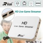 Riiai 930 Capture card stream record and share your gameplay in 1080p