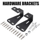 Hi Lift Hood Mount Lift Steel Hardware Bracket Black For Jeep Wrangler YJ TJ CJ