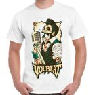 Volbeat Band Logo Rock n Roll Metal Retro T Shirt 293