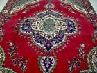 8X11 1940's GORGEOUS AUTHENTIC HAND KNOTTED 70+YRS ANTQ WOOL TABRIZZ PERSIAN RUG