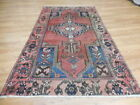 C1930 VGDY ANTIQUE PERSIAN KARACHE SERAPI HERIZ VISS 3.5x6.2 ESTATE SALE RUG