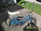 Vintage Schwinn Bicycle - Blue 1976 Stingray Fair Lady
