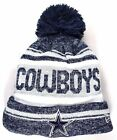 DALLAS COWBOYS New Era On Field Sport Knit Pom Beanie Hat OSFA NFL