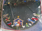 Christmas BUCILLA Felt Applique TREE SKIRT Craft KitNATIVITY82623Green Felt
