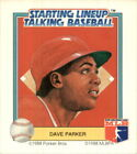 1988 Starting Lineup Reds Baseball Card #15 Dave Parker