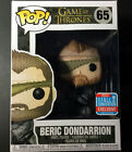 Funko Pop Game of Thrones Beric Dondarrion 65 Comic Con 2018 Exclusive - IN HAND